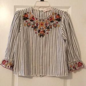 Zara 3/4 Shirt
